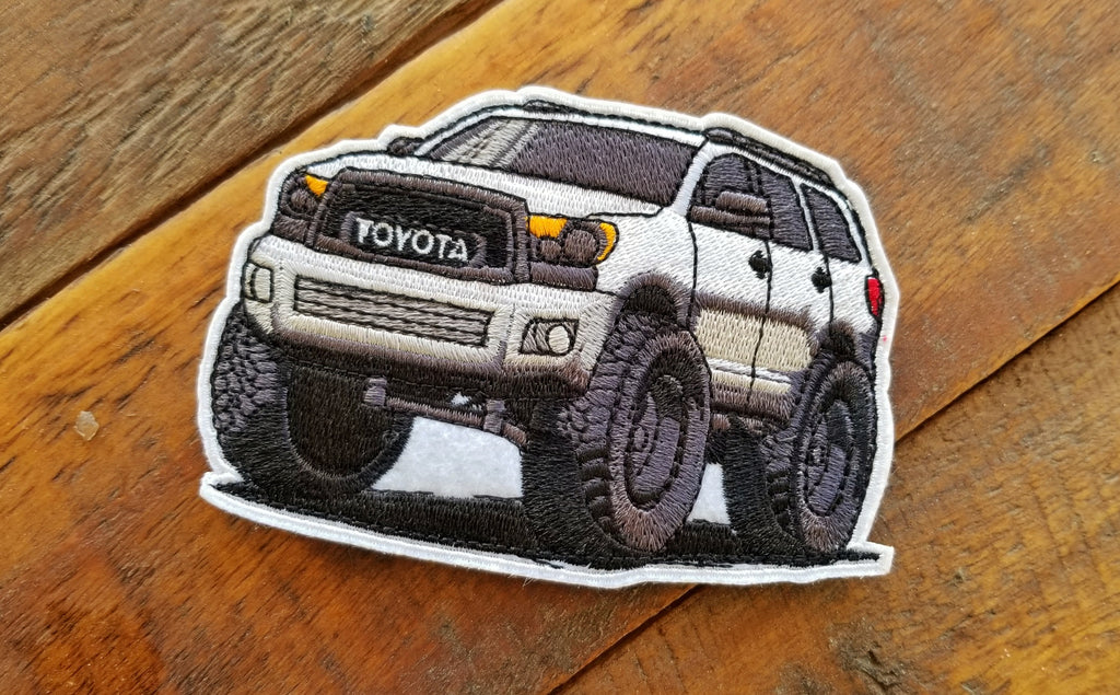 "Toyota Sequoia 2nd Gen Mini 4.25"" Velcro Patch"