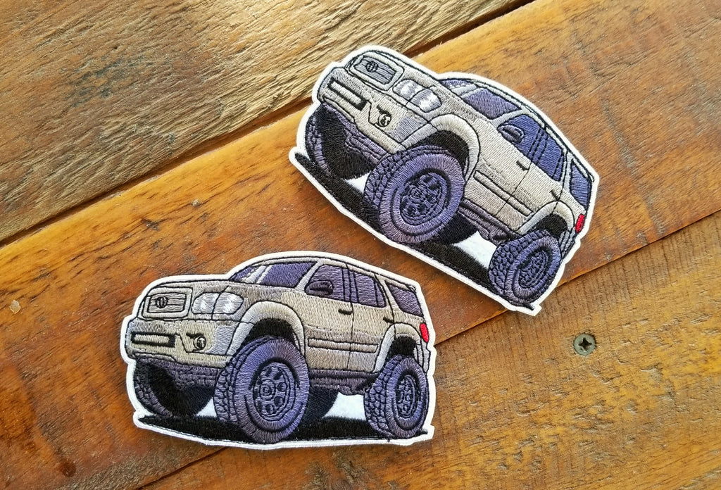 "Toyota Sequoia 1st Gen Mini 4.25"" Velcro Patch"