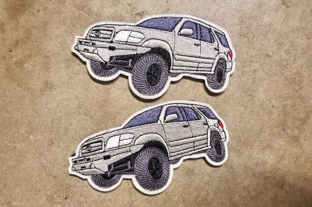 "Toyota Sequoia 1st Gen 4.25"" Velcro Patch"