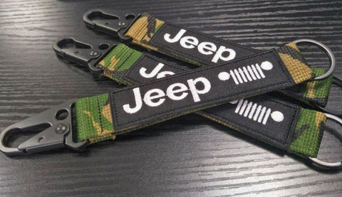 Jeep Every Day Carry Keychains