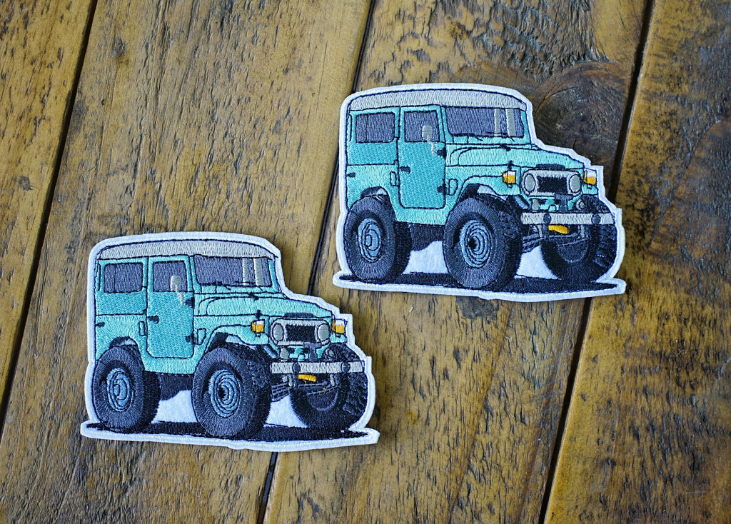 "FJ40 Mini 4.25"" Velcro Patch"