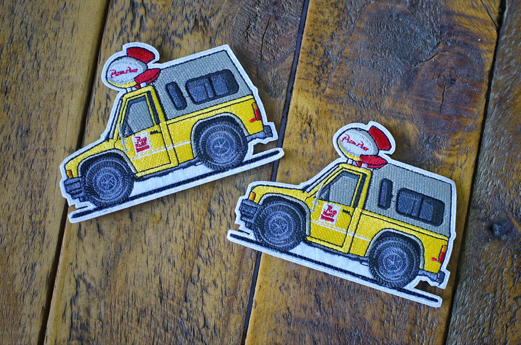 "Toyota Pizza Planet Truck Mini 4.25"" Velcro Patch"
