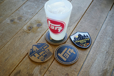 TEQ Cork Coaster