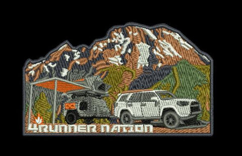 "4Runner Nation Explorer 4"" Velcro Patch"