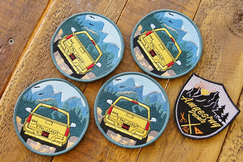 "Tacoma Outdoor Patch 4"" Velcro Patch"
