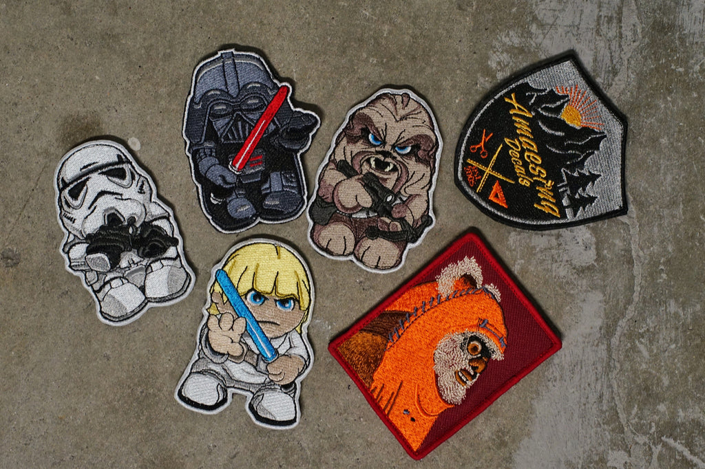 "Star Minis - Limited 3.5"" Velcro Patches"