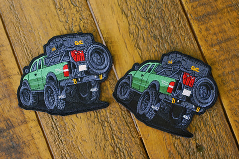 "Toyota Tacoma Mini Truck 4.25"" Velcro Patch"