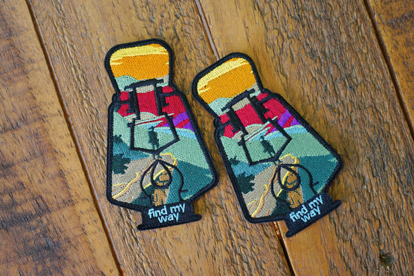 "Find My Way Lantern Series v1 4.5"" Velcro Patch"