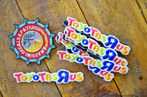 "Toyotas R Us 5"" Velcro Patch"