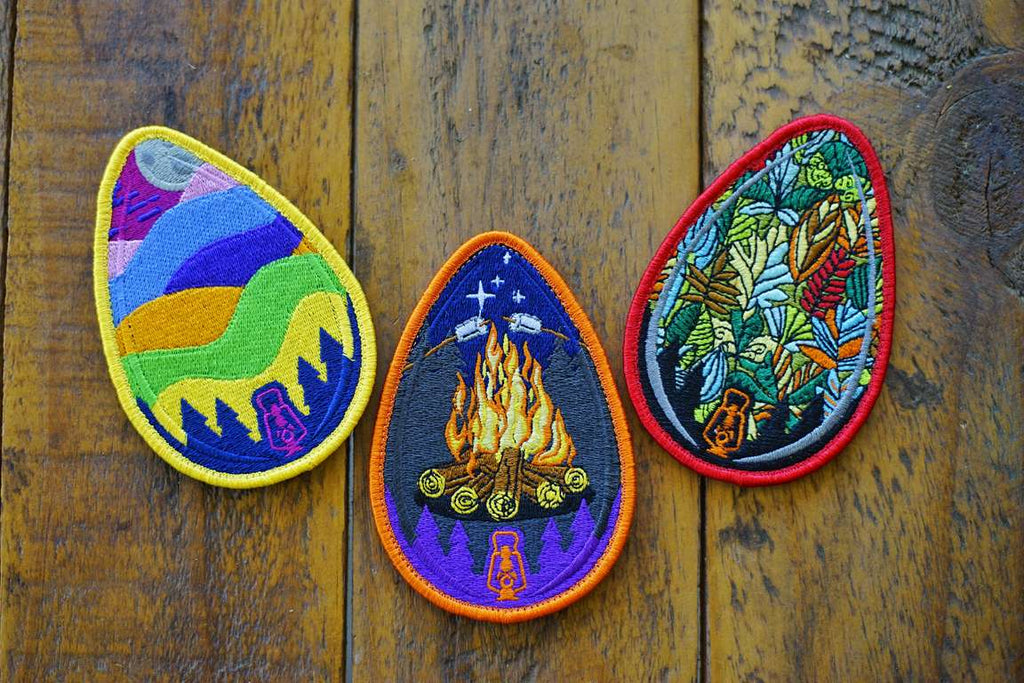 "Lantern Adventure 4.25"" Egg Series Patch"