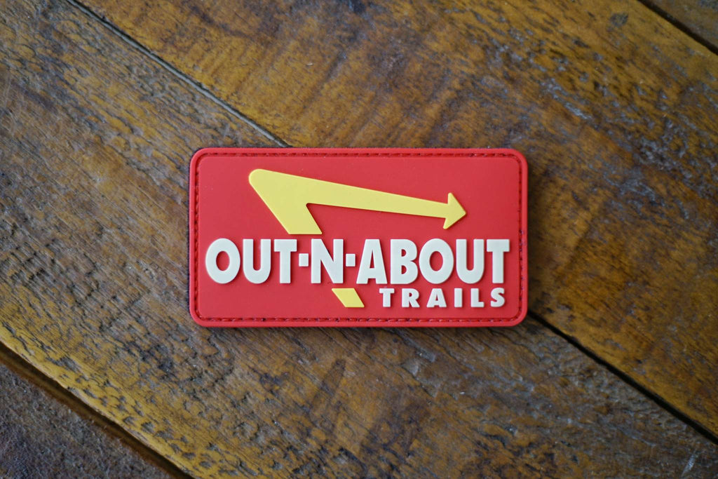 "Out N About Trails 4"" TPR Rubber Glow Patch"