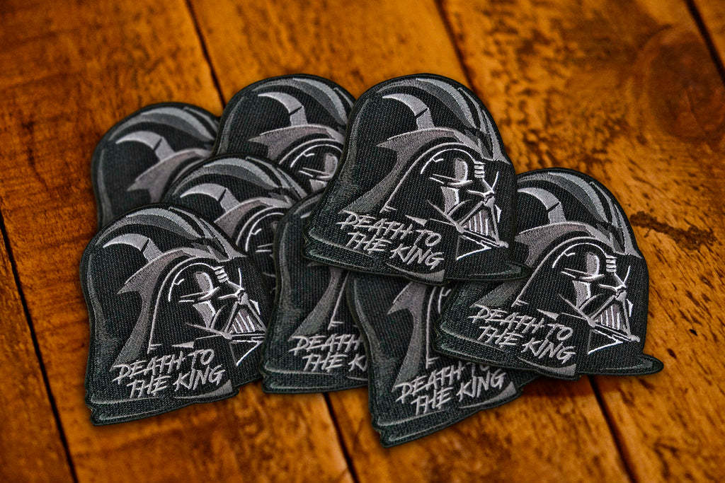 "Death to the King Vadar 4"" Velcro Patch"