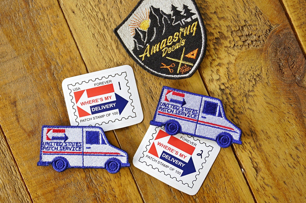 "United States Patch Service 3.5"" Velcro Patch - Limited"