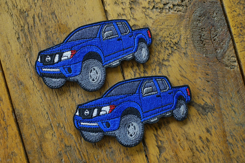 "Nissan Frontier Truck 4"" Velcro Patch"