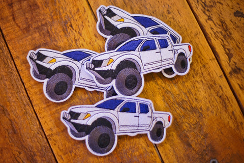 "Nissan Frontier Off-road Truck 4"" Velcro Patch"
