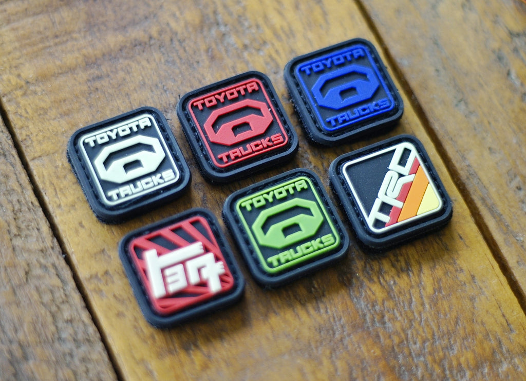 "Toyota 1"" Ranger Eye's PVC Velcro Patches (6pcs)"