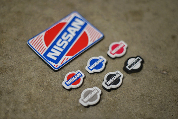 Nissan PVC Rubber Velcro Patches