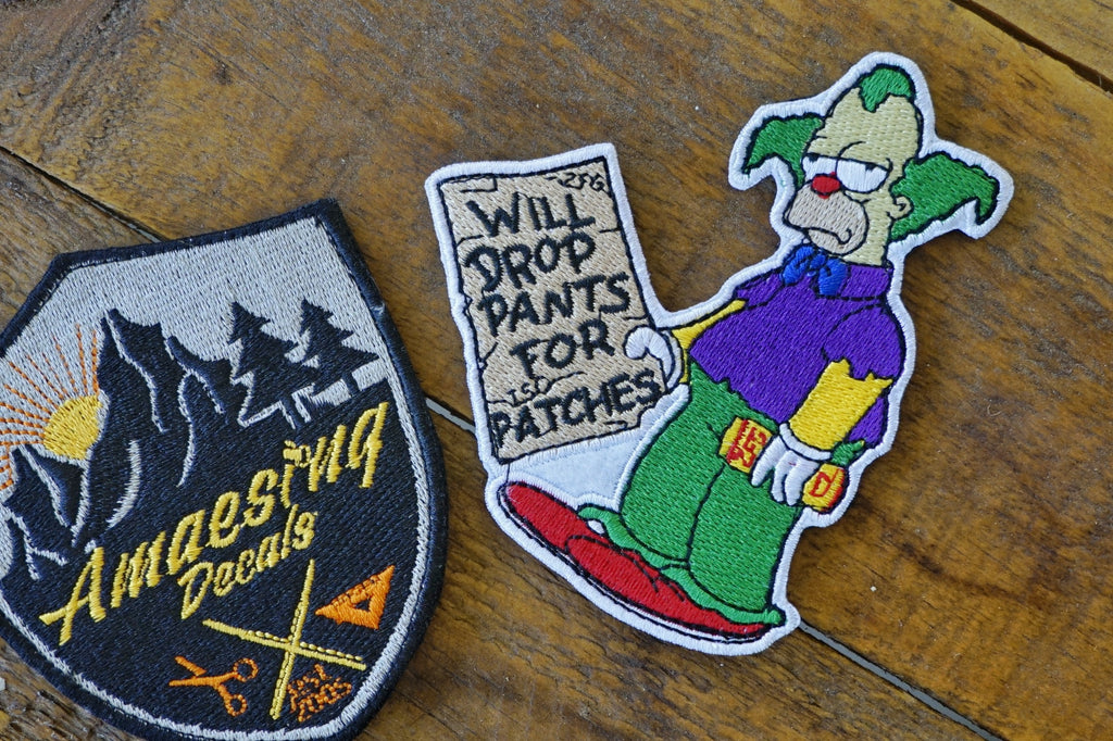 "Krusty Drop Pants For ISO 4"" Velcro Patch"