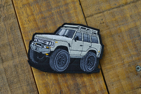 "FJ62 Land Cruiser Mini 4.25"" Velcro Patch"