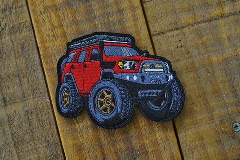 "4runner Mini 4.25"" Velcro Patch"