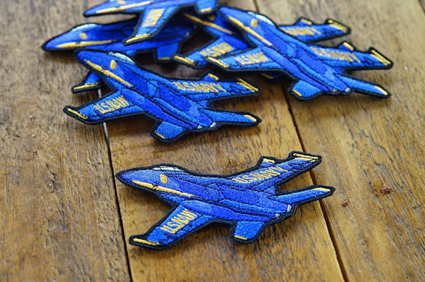 "Blue Angels 3.5"" Velcro Patch"