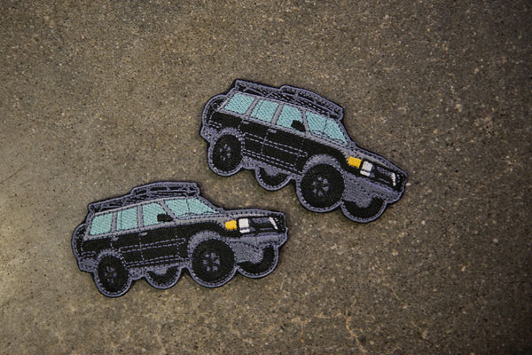 "80 Series Land Cruiser Night Crawl 4"" Velcro Patch"