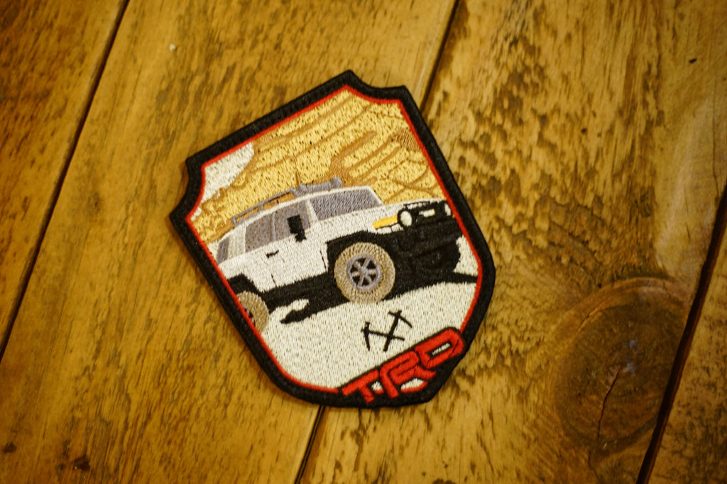 "FJ Cruiser Explorer 4"" Velcro Patch"