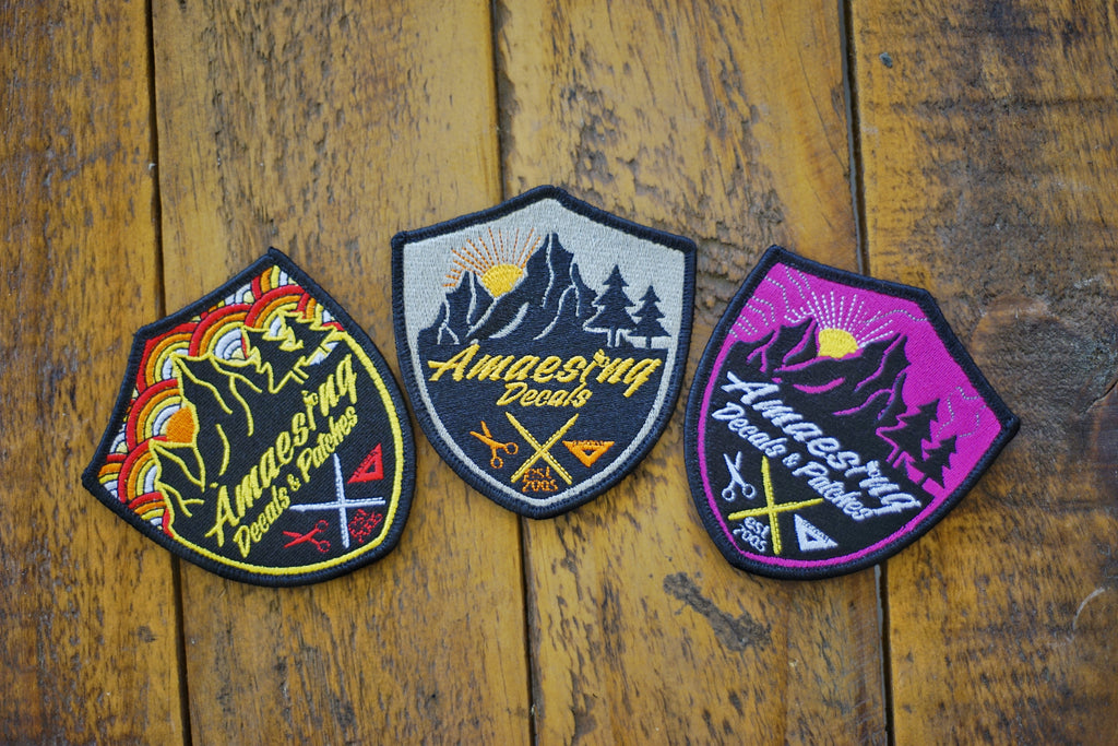 "Amaesing Decals 3"" Wilderness Patches"