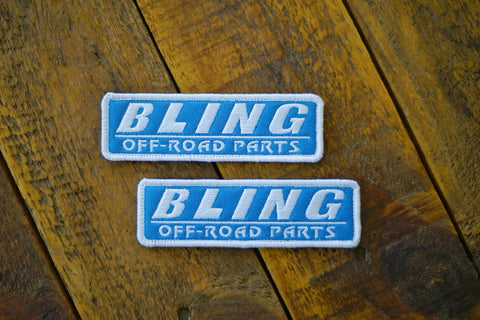 "Bling Off-Road Parts 4.5"" Velcro Patch"