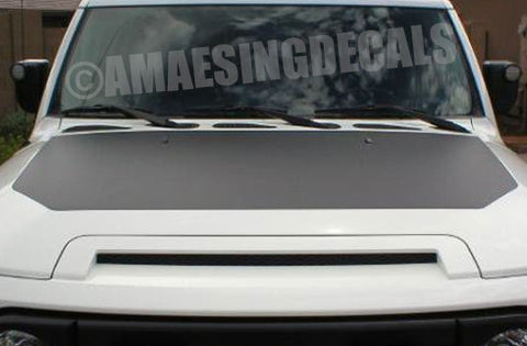 1. Amaesing FJ Hood Decal Matte Black