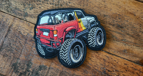 "1st Gen 4Runner Retro Mini 4.5"" Velcro Patch"