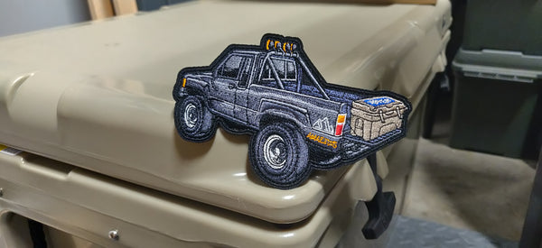 "Marty BTTF Truck x Primo Toyedi 4.5"" Velcro Patch"