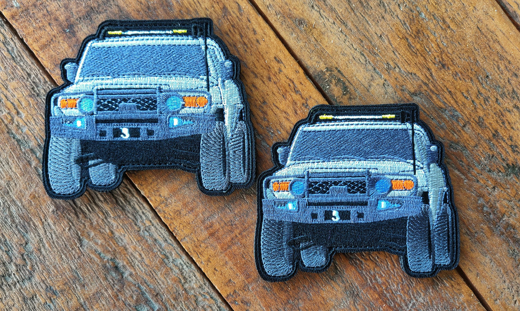 "FJ Cruiser 4"" Velcro Patch"
