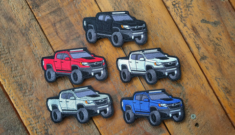 "Chevy ZR2 Truck 4"" Velcro Patches"