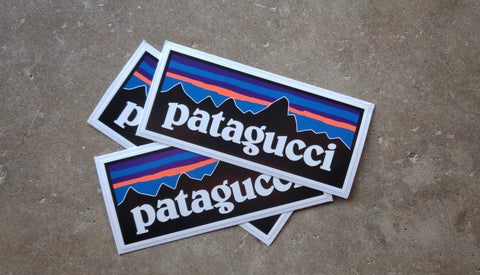 "Patagucci 4.75"" Sticker"