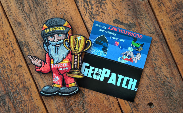 "Ivan Gnome Geopatch 4.25"" Velcro Patch"