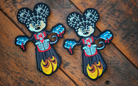 "Mickey Pinhead 5"" Velcro Patch"