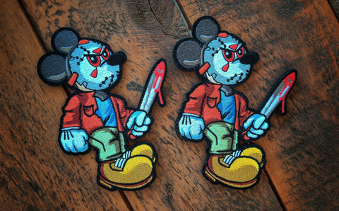"Mickey Jason 5"" Velcro Patch"