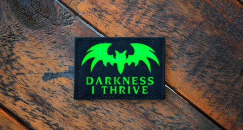"Darkness 3"" Laser Cut Patch"