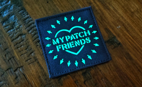 "My Patch Friends Laser Cut Glow 3"" Patch"