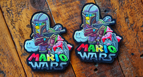 "MarioWars V5 5"" Velcro Patch"