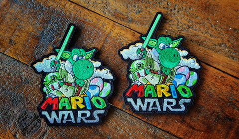 "MarioWars V6 5"" Velcro Patch"