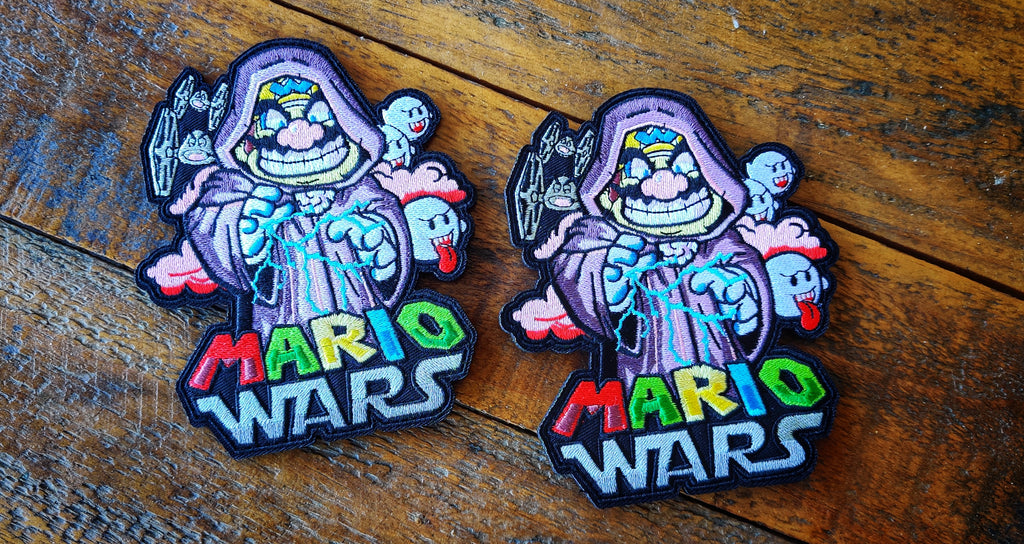 "MarioWars V7 5"" Velcro Patch"