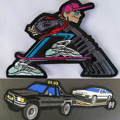 Marty B2F Truck V.2 and Marty Future Boy Velcro Patches