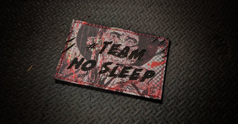 "#TeamNoSleep Nightmare 3"" Laser Cut Patch"
