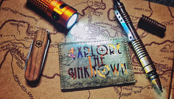 Explore The Unknown v1 Laser Cut Patch