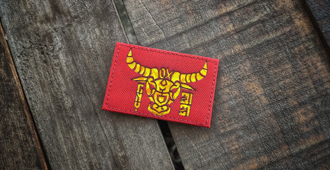 CNY Year Of The OX Laser Cut Patch