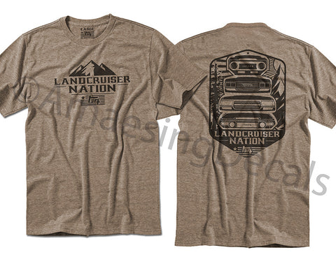 Amaesing Decals - Landcruiser Nation Tee