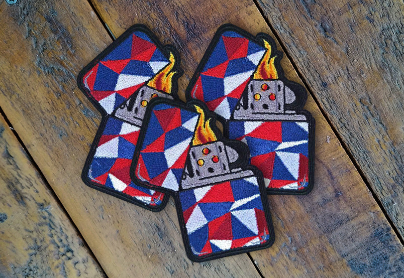 "Lighter Series v2 3.5"" Velcro Patch"