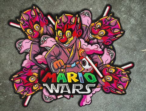 "MarioWars V4 5"" Velcro Patch"